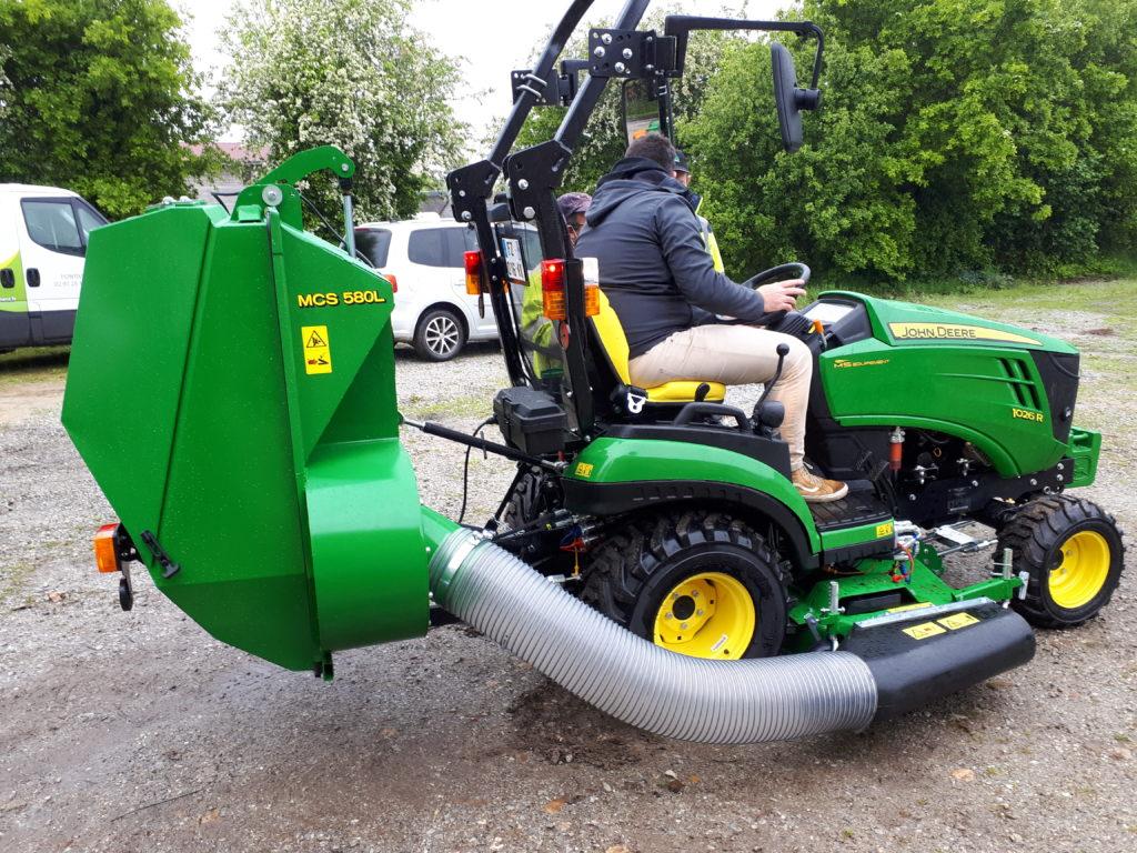 Nouveau micro-tracteur polyvalent